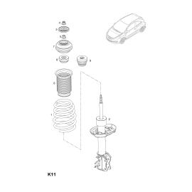 Отбойник амортизатора переднего Opel Corsa D (2006-2014)