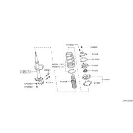 Подшипник опорный амортизатора переднего Nissan Almera Classic (2006-2013)