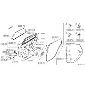 Пыльник-отбойник амортизатора переднего Nissan Almera G15 (2013-н.в.)