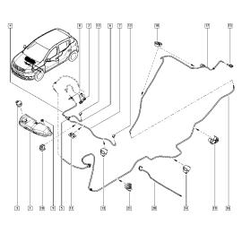Бачок омывателя Renault Sandero 2 (2014-н.в.)