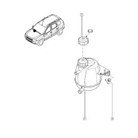 Бачок расширительный Renault Duster (2011-н.в.)