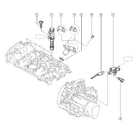 Катушка (модуль) зажигания Renault Megane 2 (2003-2009)