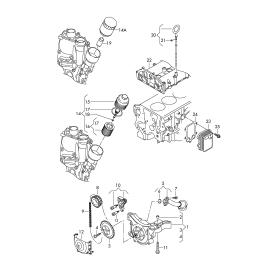 Фильтр масляный Volkswagen Tiguan 1 (2007-2016)