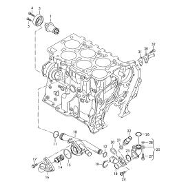 Натяжитель ремня приводного Volkswagen Touareg 2 (2010-н.в.)