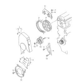 Ремень ГРМ Volkswagen Jetta 5 (2005-2010)