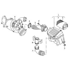 Фильтр воздушный Volkswagen Golf 6 (2009-2012)