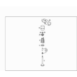 Клапан впускной (М 651930) Mercedes A-klass W176 (2013-н.в.)