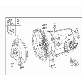 Гидротрансформатор (AT) Mercedes E-klass W212 (2009-2016)