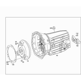 Гидротрансформатор (AT) Mercedes ML-klass W164 (2005-2011)