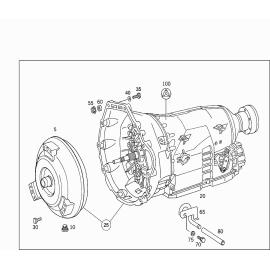 Гидротрансформатор (AT 722.638) (G400) Mercedes G-klass W463 (1999-н.в.)