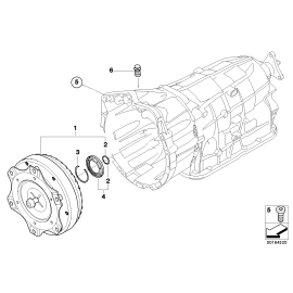 Гидротрансформатор (АT) BMW 3 E90 (2005-2012)