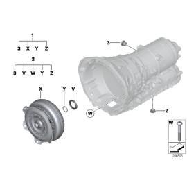 Гидротрансформатор ремкомплект (АT) BMW X3 F25 (2010 - н.в.)