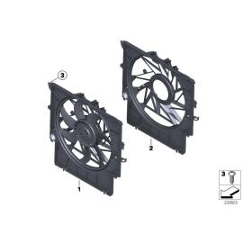 Диффузор вентилятора радиатора охлаждения BMW X3 F25 (2010 - н.в.)