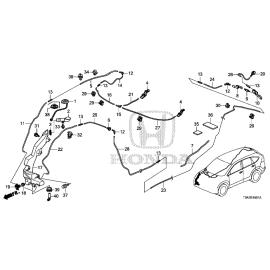 Бачок омывателя Honda CR-V 4 (2012-2016)