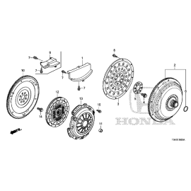 Гидротрансформатор (АТ) Honda CR-V 4 (2012-2016)