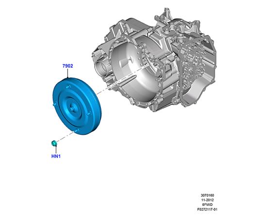 Гидротрансформатор Ford Kuga 2 (2013-н.в.)