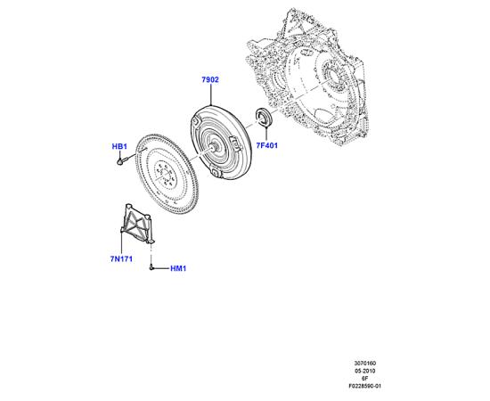 Гидротрансформатор Ford Explorer 5 (2011-н.в.)